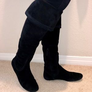 Cole Haan Shoes - Cole Haan Sarafina over the knee suede boots!